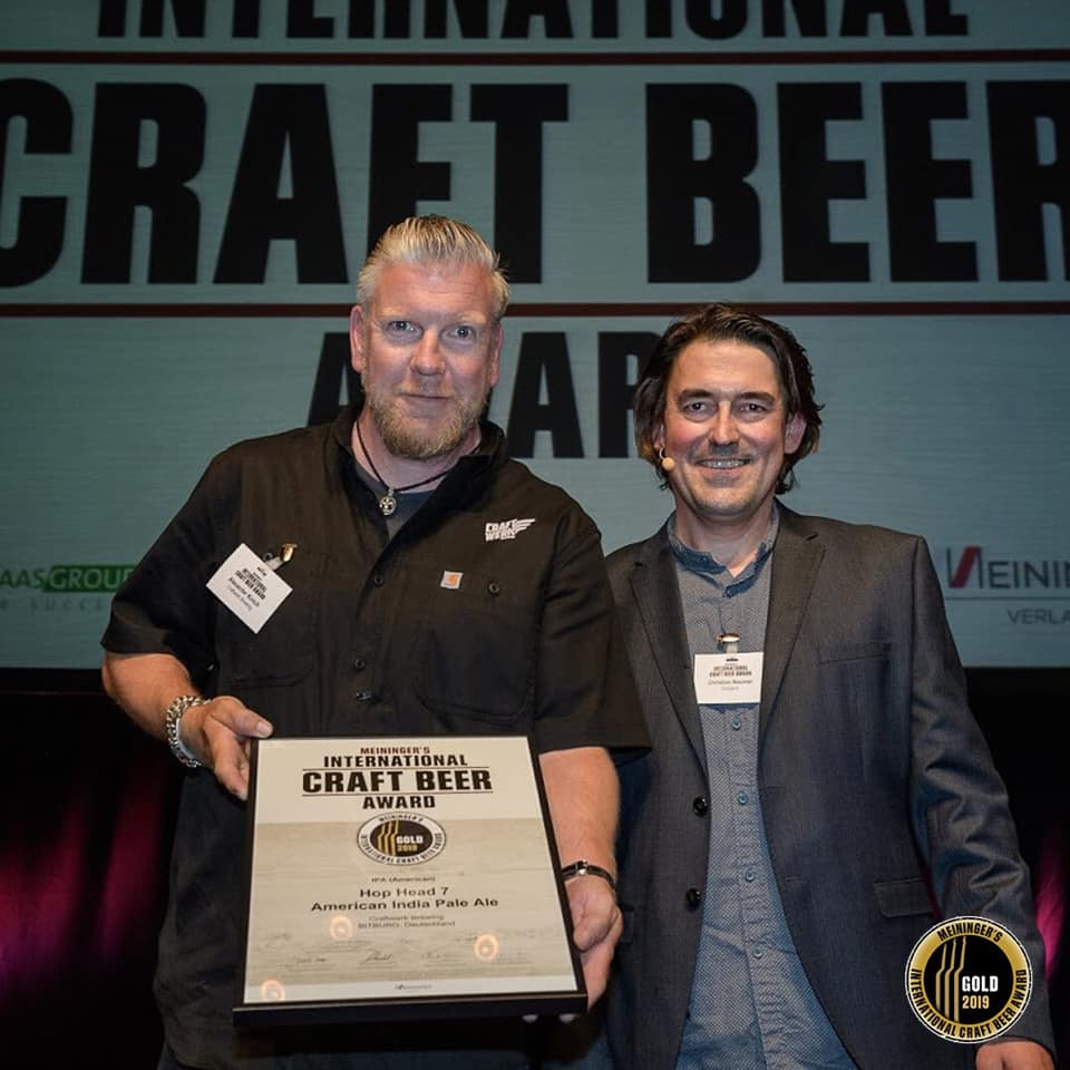 Meininger's International Craft Beer Award!